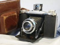 '   12-20 ' ENSIGN   SELFIX 12-20 with ROSS XPRES LENS Vintage Folding Camera Cased £44.99